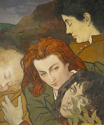 Composition allégorique - Charles Maurin