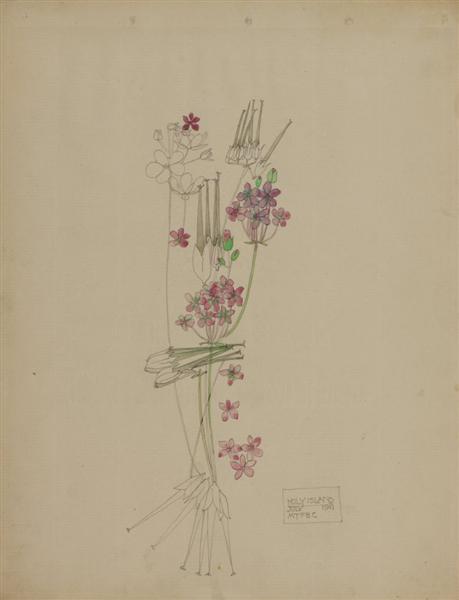 Stork's-bill, Holy Island, 1901 - Charles Rennie Mackintosh