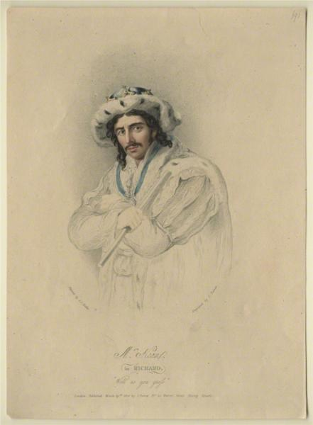 Edmund Kean as Richard III, 1814 - Charles Turner