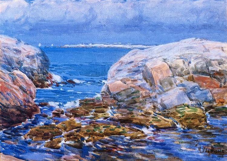 Duck Island, Isles of Shoals, 1906 - Childe Hassam