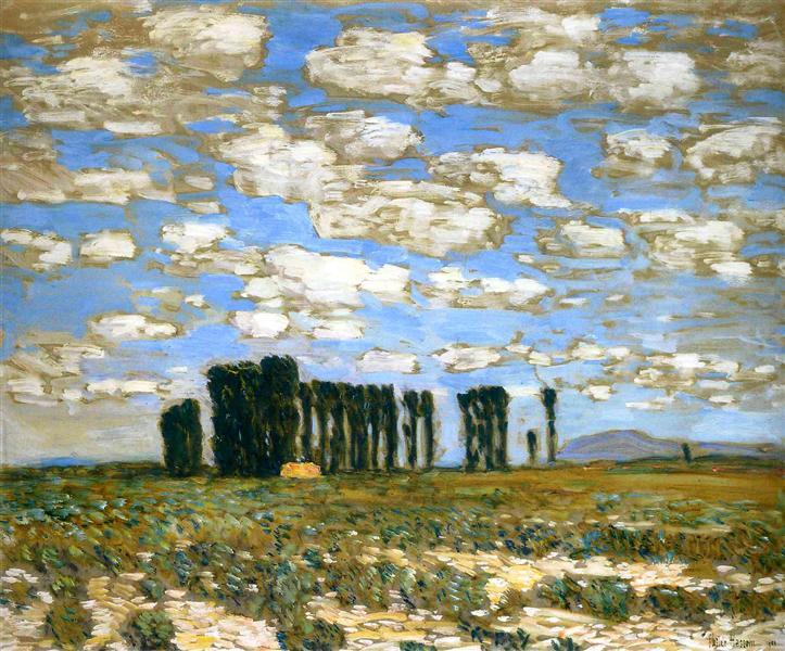 Harney Desert Landscape, 1904 - Childe Hassam