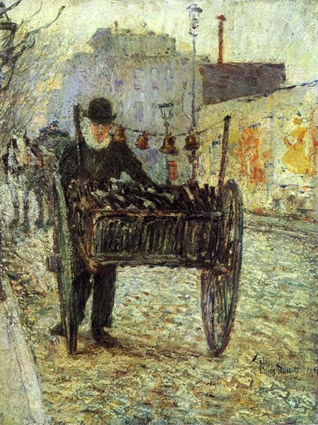 Old Bottle Man, 1892 - Childe Hassam