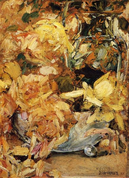 Roses, 1895 - Childe Hassam