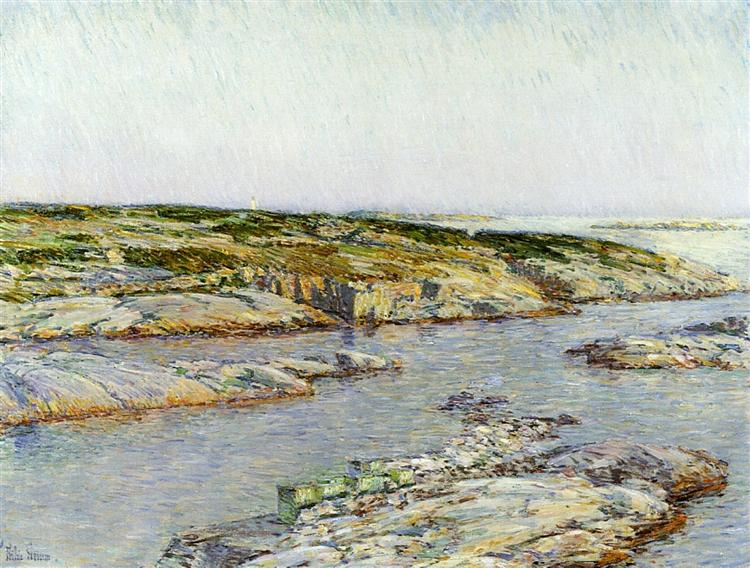Summer Afternoon, Isles of Shoals, 1901 - Childe Hassam