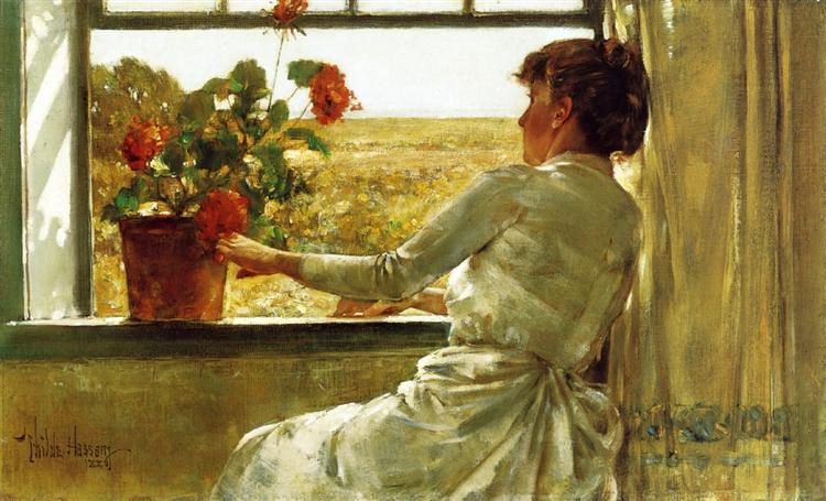 Summer Evening, 1886 - Childe Hassam