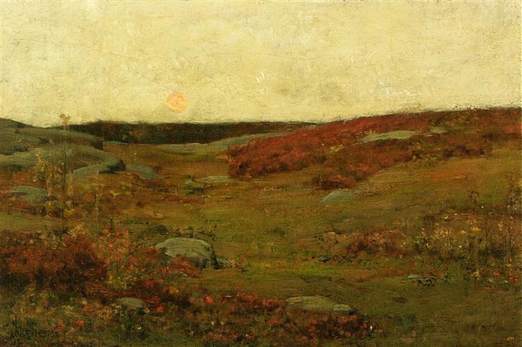 Sunrise, Autumn - Childe Hassam