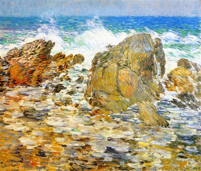 Surf, Appledore - Childe Hassam