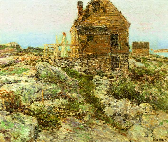 The Norwegian Cottage, 1909 - Childe Hassam