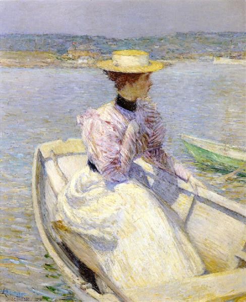 The White Dory, 1895 - Childe Hassam