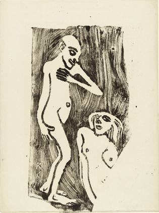 In Love (Verliebt), 1912 - Christian Rohlfs
