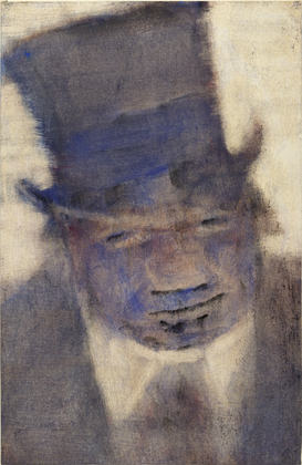 Man in a Top Hat - Christian Rohlfs