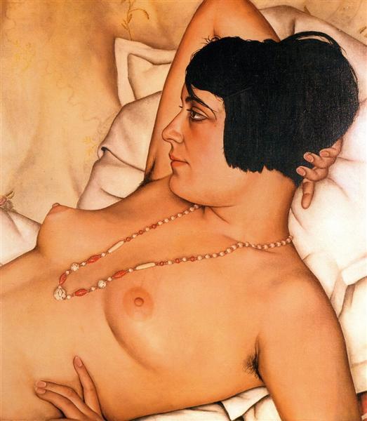Halbakt, 1929 - Christian Schad