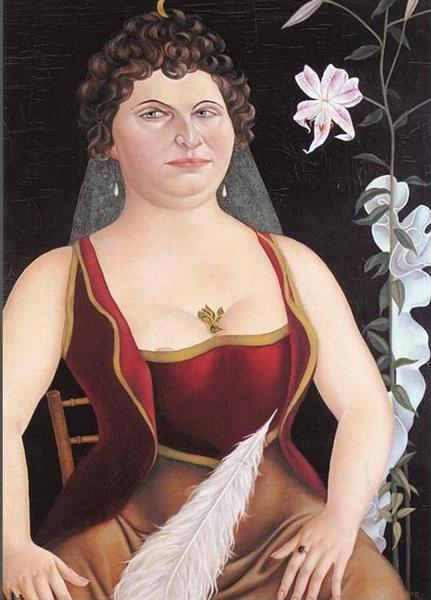 Imperial Countess Triangi-Taglioni, 1926 - Christian Schad
