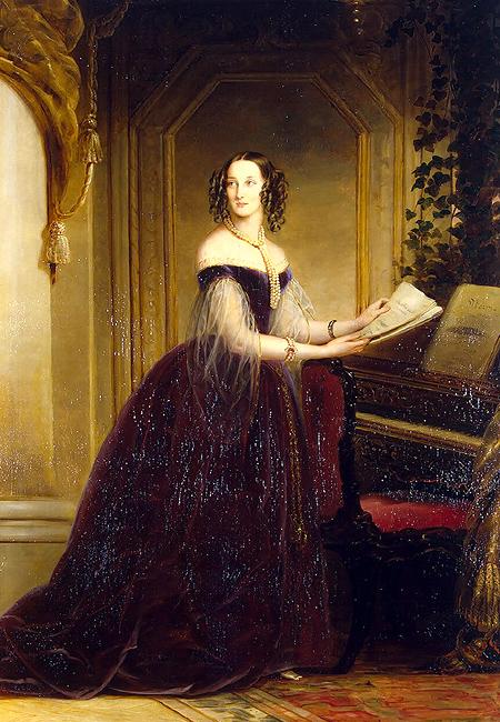 Maria Nicolaevna, Duchess of Leuchtenberg, 1840
