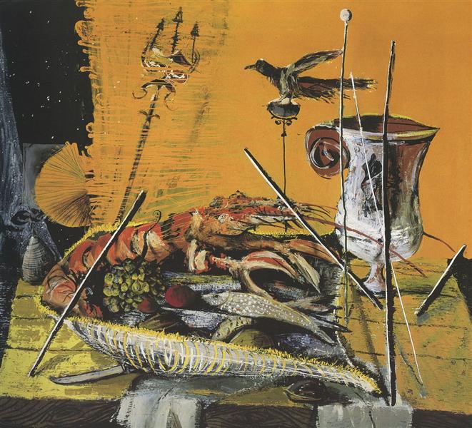 Pompeian Lobster, 1954 - Christo Coetzee