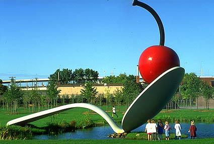 Spoonbridge and Cherry (collaboration with van Bruggen) - Claes Oldenburg