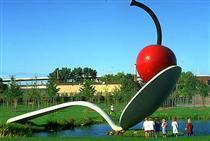 Spoonbridge and Cherry (collaboration with van Bruggen) - Клас Ольденбург