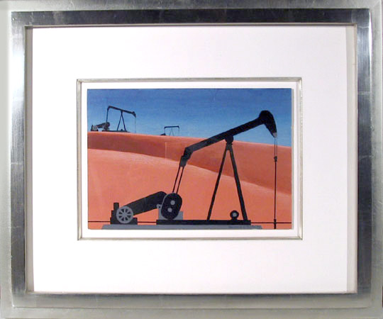 Oil Well, 1979 - Clarence Holbrook Carter