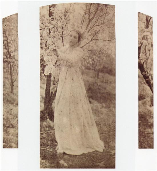 Spring - A Triptych, 1898 - Clarence White