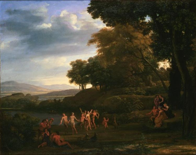 Landscape With Dancing Satyrs and Nymphs, 1646 - Claude Lorrain