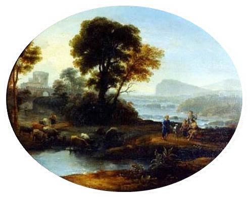 Pastoral landscape, 1647 - Claudio de Lorena