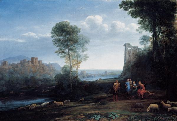 Pastoral Landscape, 1677 - Claude Lorrain