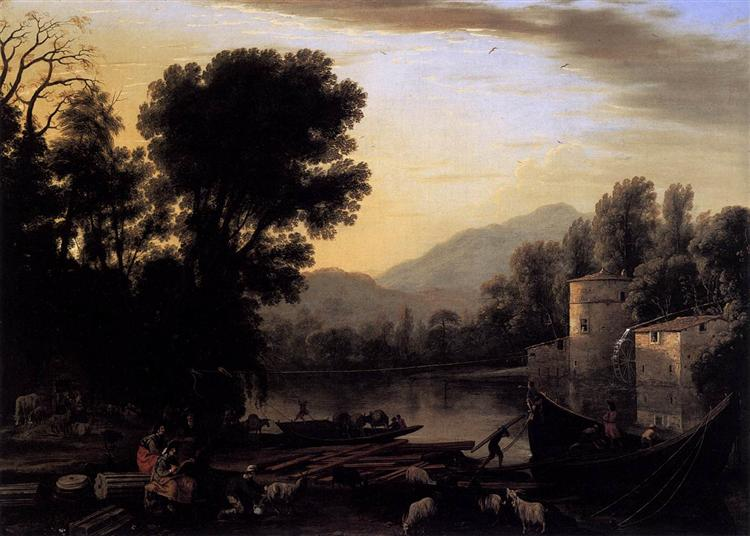 The Mill, 1631 - Claude Lorrain