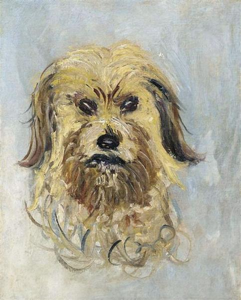 Head of the Dog, 1882 - Claude Monet