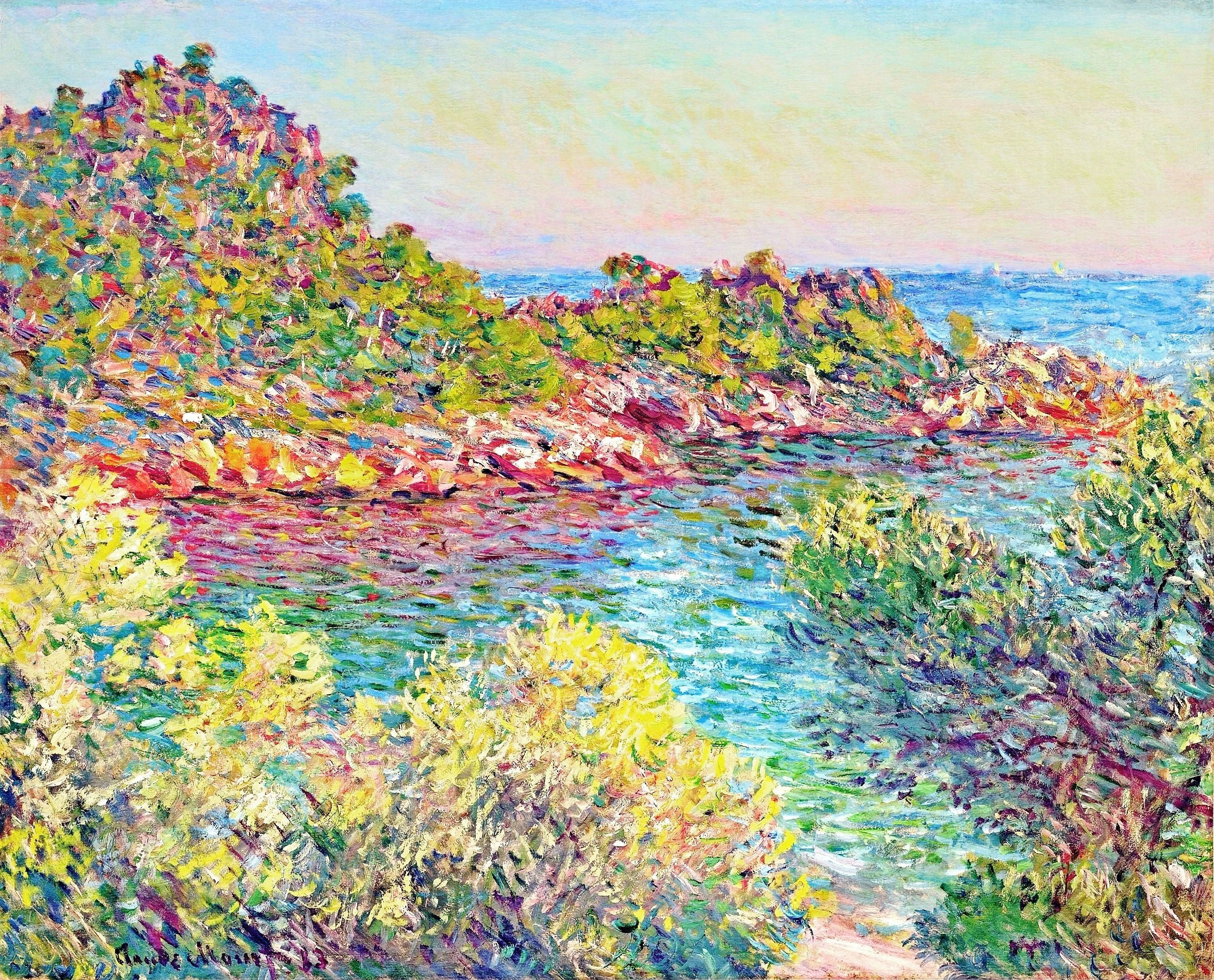 How many paintings did Claude Monet paint?