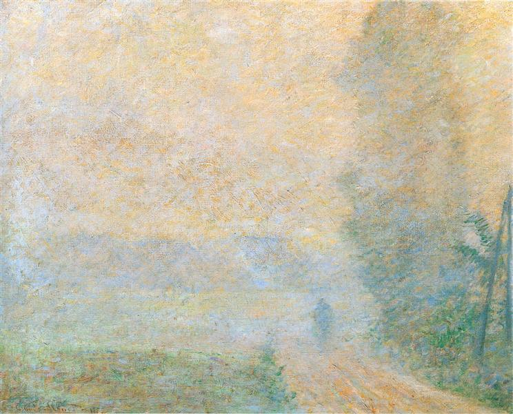 Path in the Fog, 1887 - Claude Monet