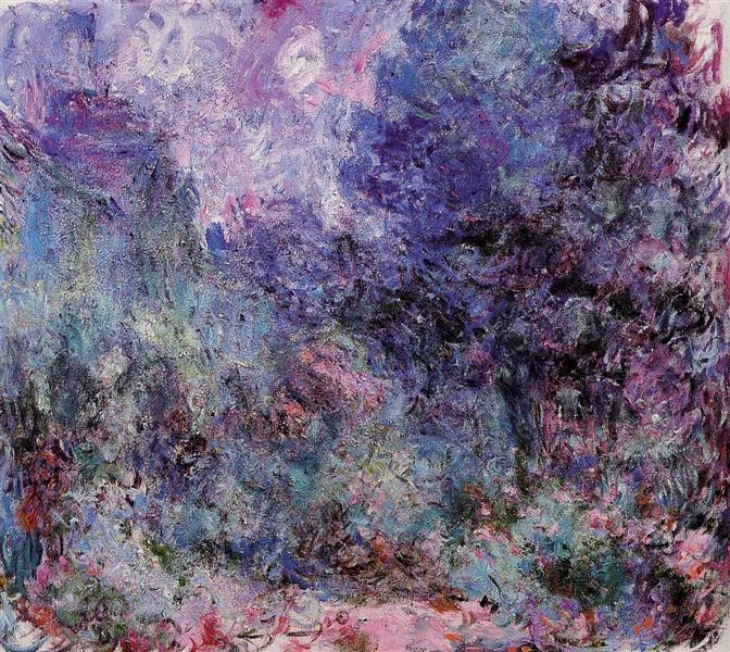 The House Seen from the Rose Garden 3, 1922 - 1924 - Claude Monet
