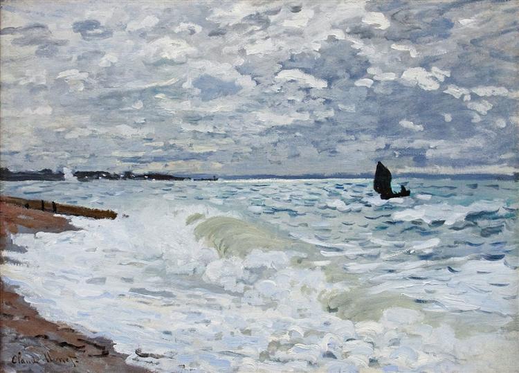 The Sea at Saint-Adresse, 1868 - Claude Monet