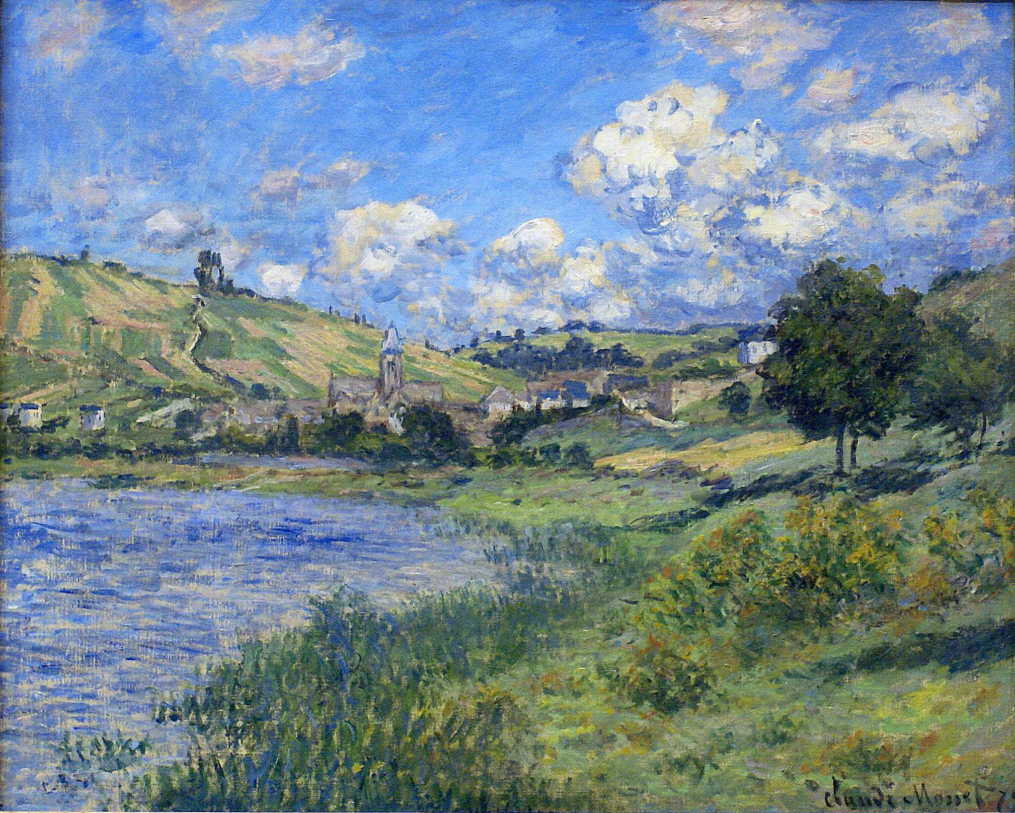 Vetheuil, Paysage by Claude Monet, 1879