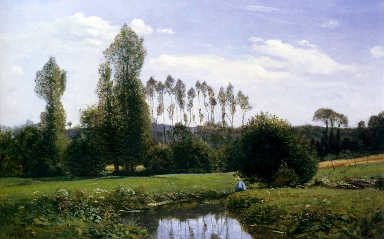 View At Rouelles Le Havre, 1858