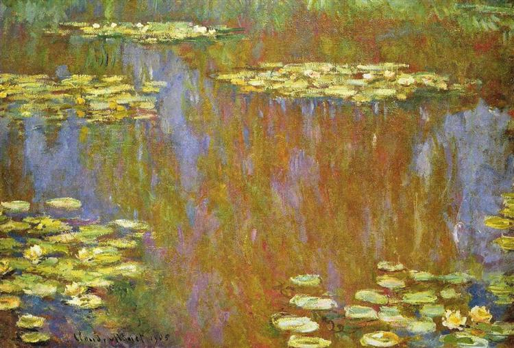 Water Lilies, 1905 - Claude Monet