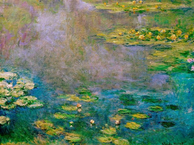 Водяные лилии, 1906 - Клод Моне