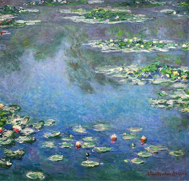Water Lilies, 1906 - Claude Monet