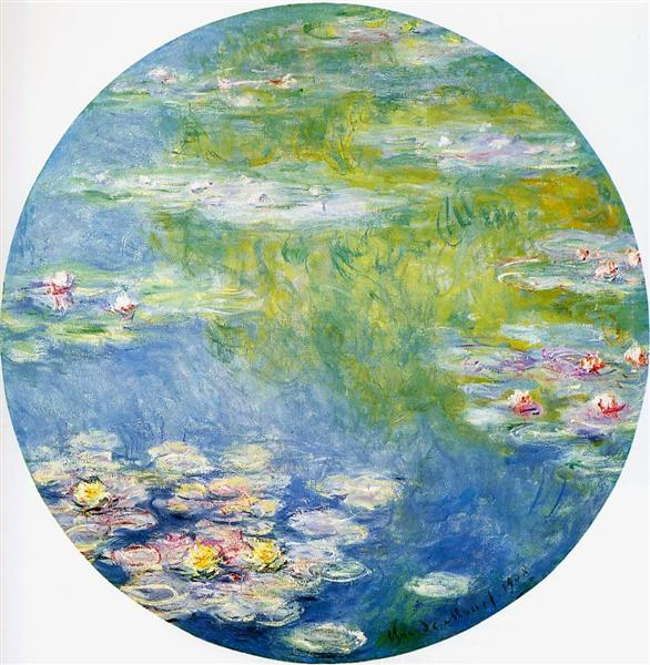 Water Lilies, 1908 - Claude Monet