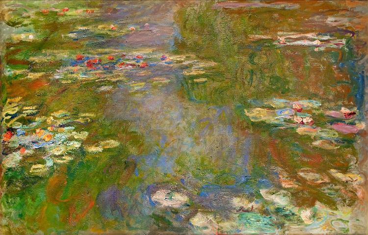 Water Lilies, 1919 - Claude Monet