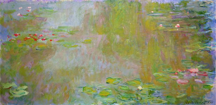 Water Lily Pond - Monet Claude