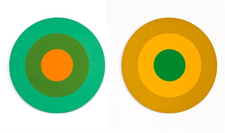 Titane cadmium, 1975 - Claude Tousignant