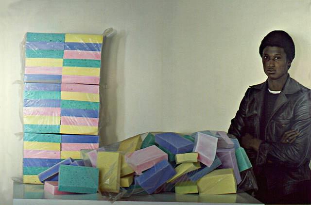Abullah and sponges, 1974