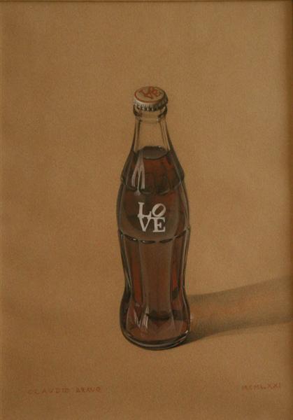 Coke Love, 1971 - Claudio Bravo