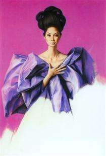 Portrait of Imelda Cojuangco - Клаудіо Браво