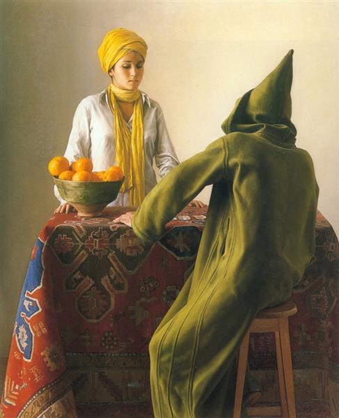 The fortune-teller, 1981 - Claudio Bravo