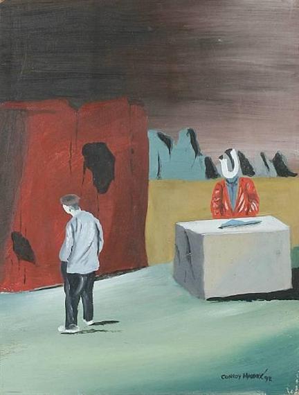 Exhibition in an Unfriendly Landscape, 1992 - Conroy Maddox