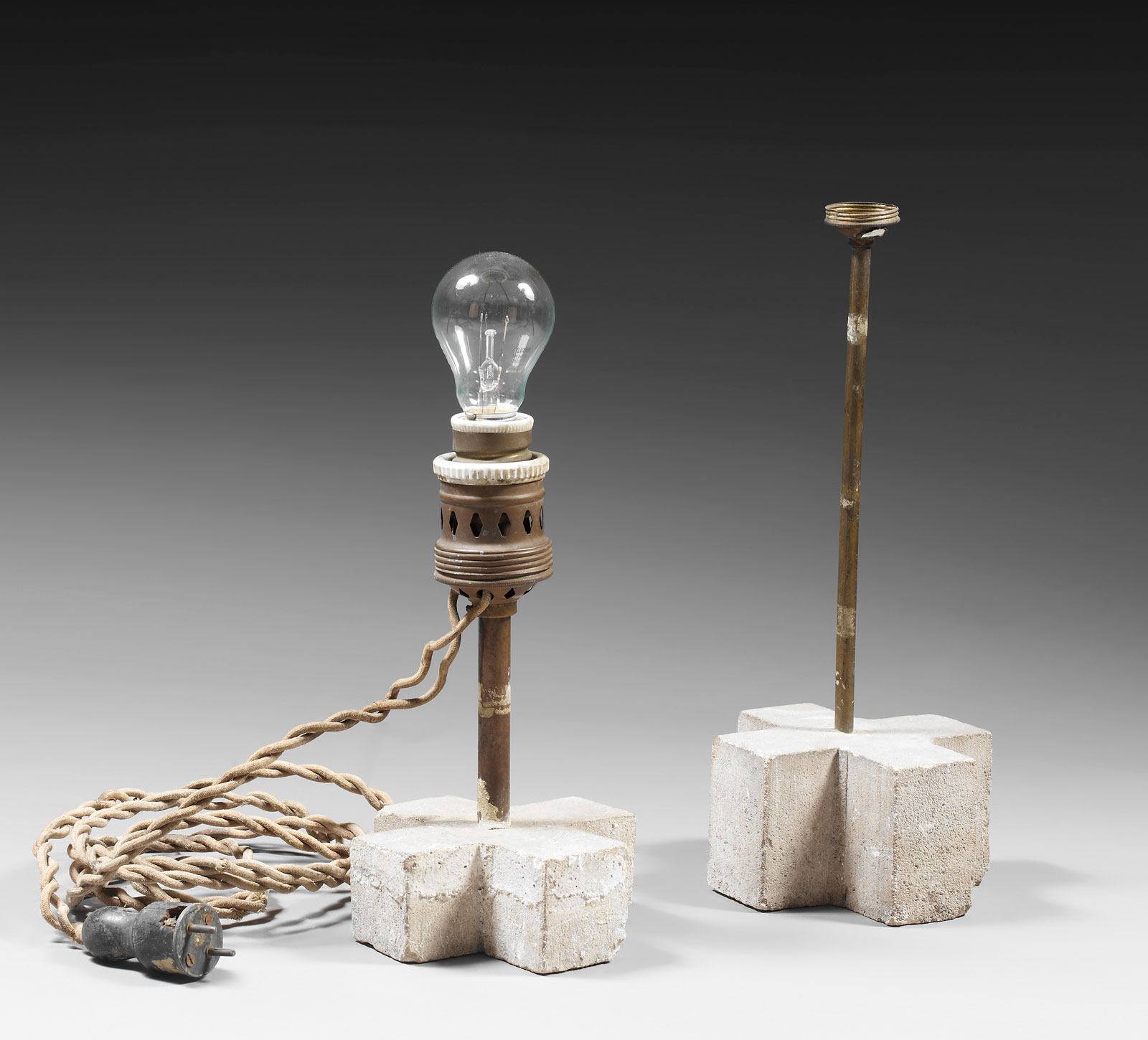 Two lamps, 1929