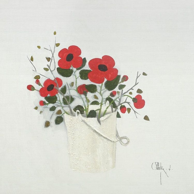 Kettle With Flowers