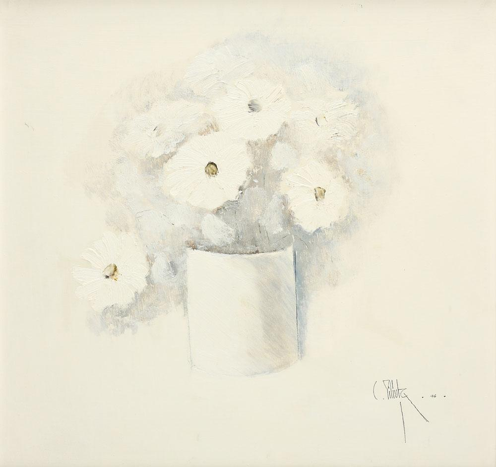 Vase with White Flowers, 1996