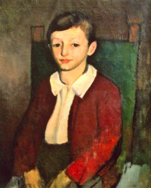 Child Portrait - Corneliu Baba